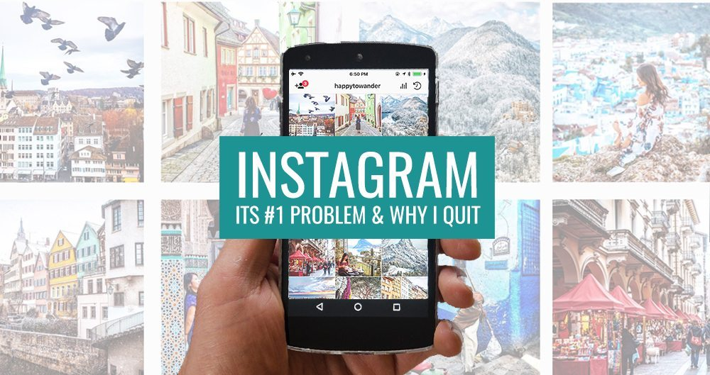 The Problem with Instagram in 2018 (& Why I Quit)