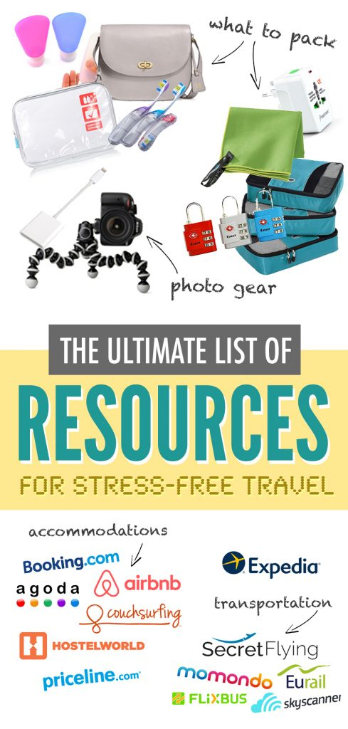 Travel Resources: The Ultimate List | Happy to Wander