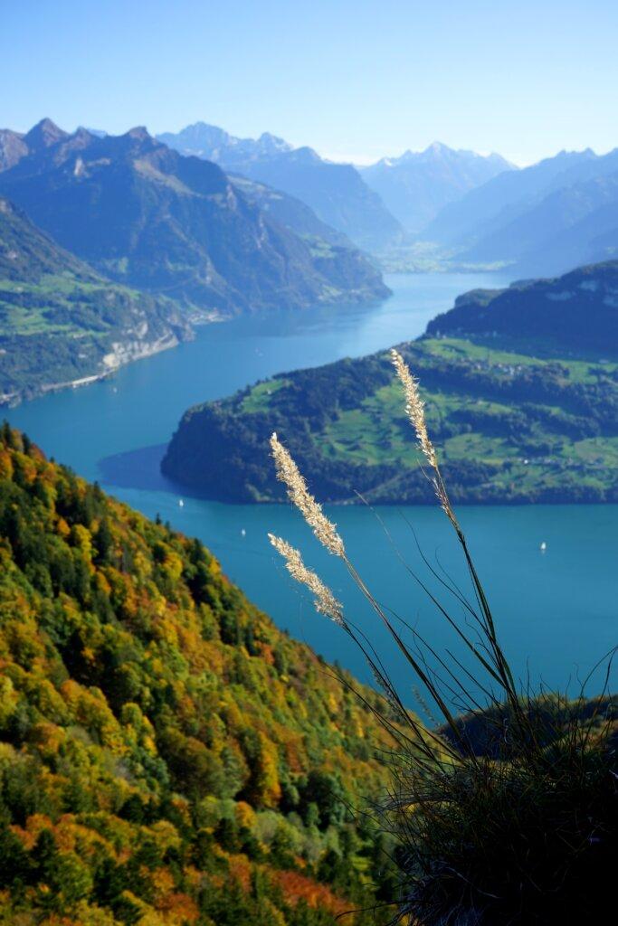 View from Mount Rigi near Lucerne, Switzerland
