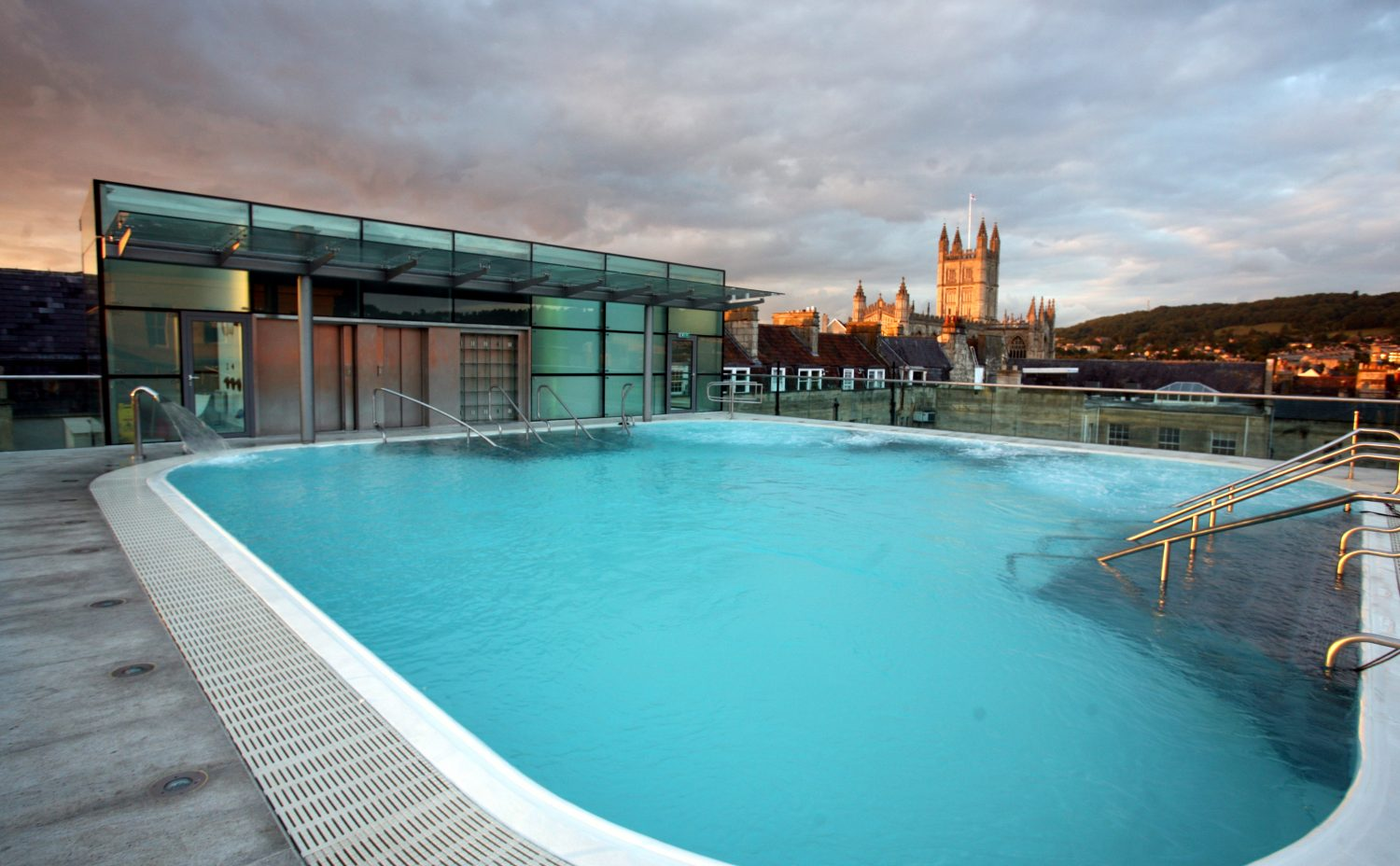 Photo courtesy of the Thermae Bath Spa