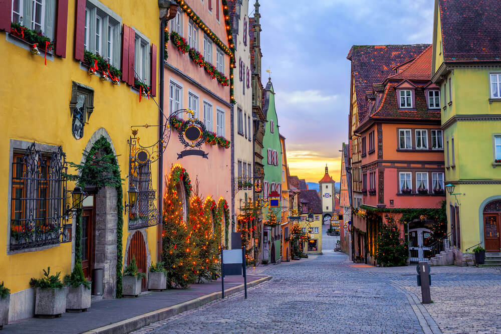 Christmas in Rothenburg ob der Tauber, one of the best Christmas markets in Germany
