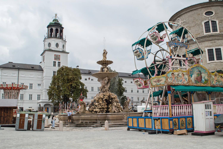 Salzburg Residenzplatz