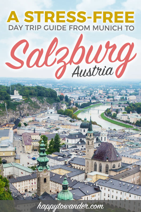 Take a stress-free day trip from Munich to Salzburg, Austria with this epic, detailed guide featuring things to do in Salzburg, where to find Sound of Music locations, restaurant recommendations, and more. Includes beautiful Salzburg photography of the Altstadt & around. A must-read!