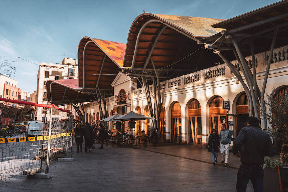 Santa Catarina Market in Barcelona, Spain