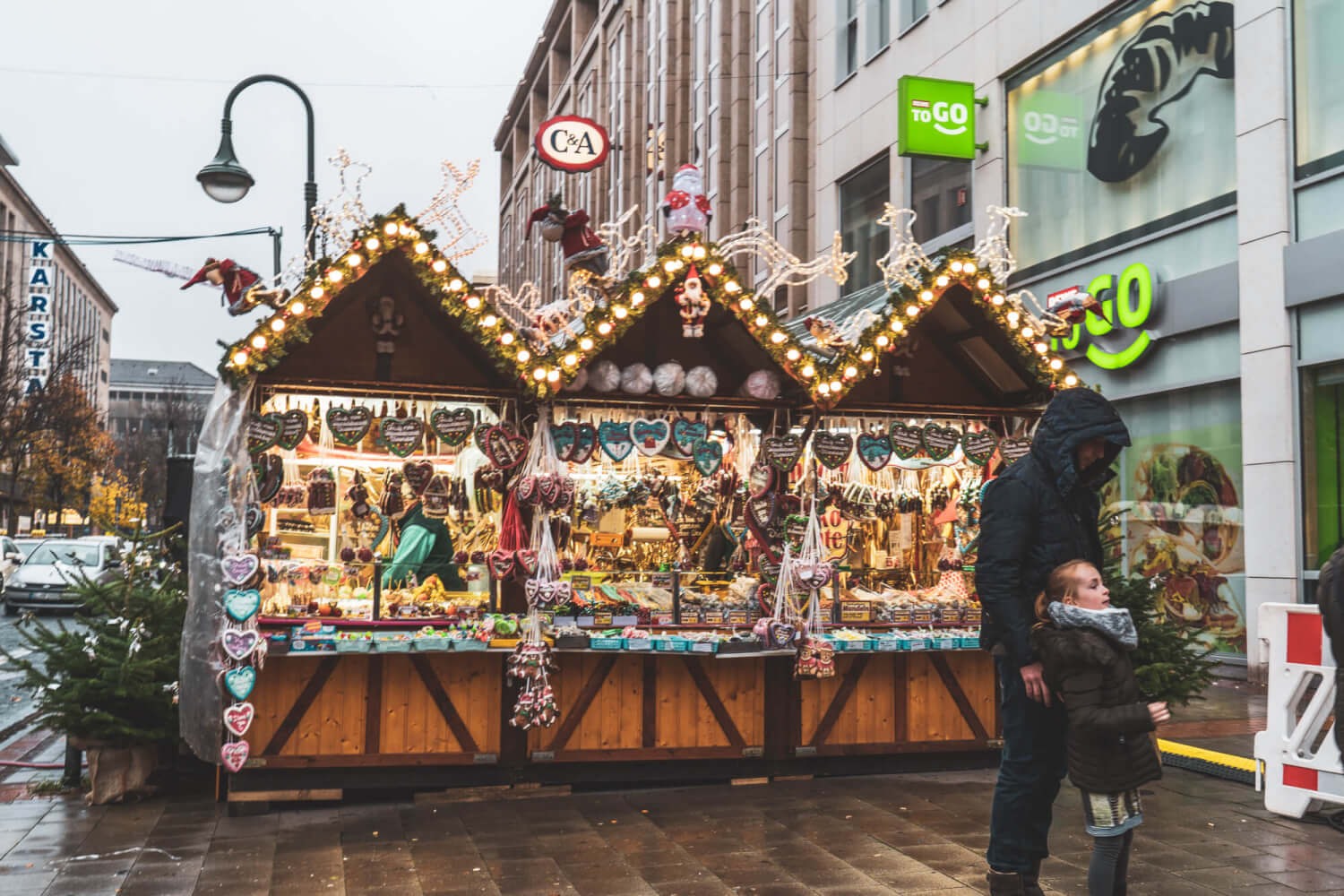 Dusseldorf Christmas Market, one of the best Christmas markets in Germany