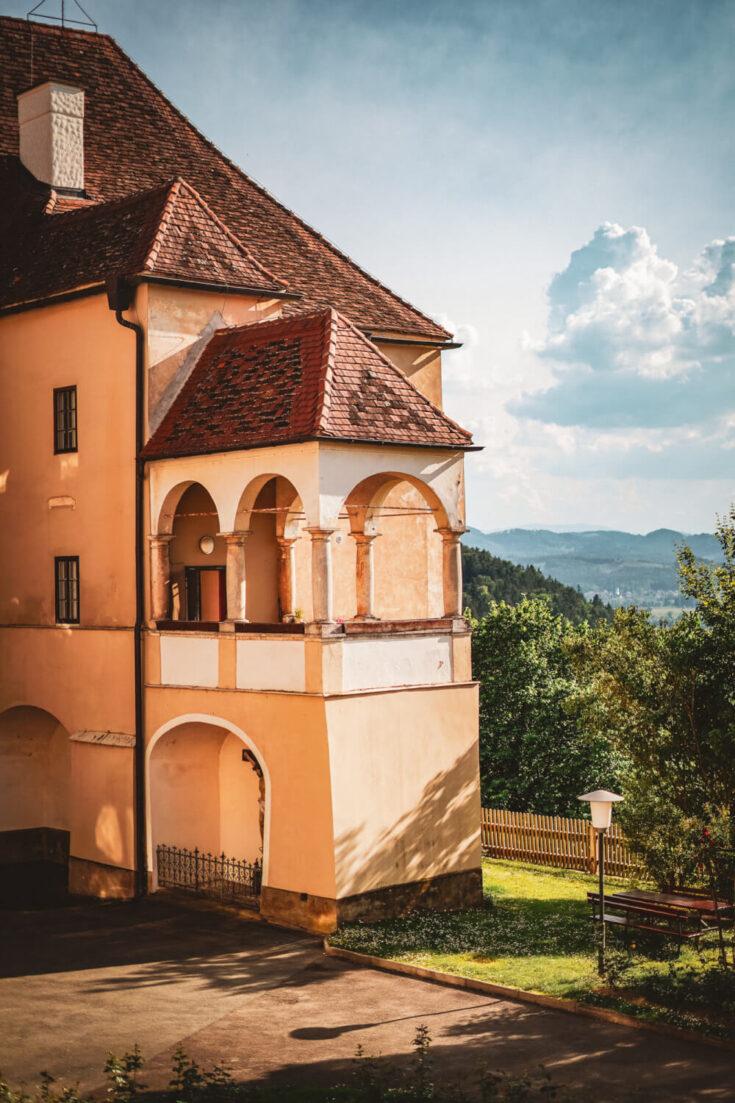 Seggau Castle in South Styria, Austria