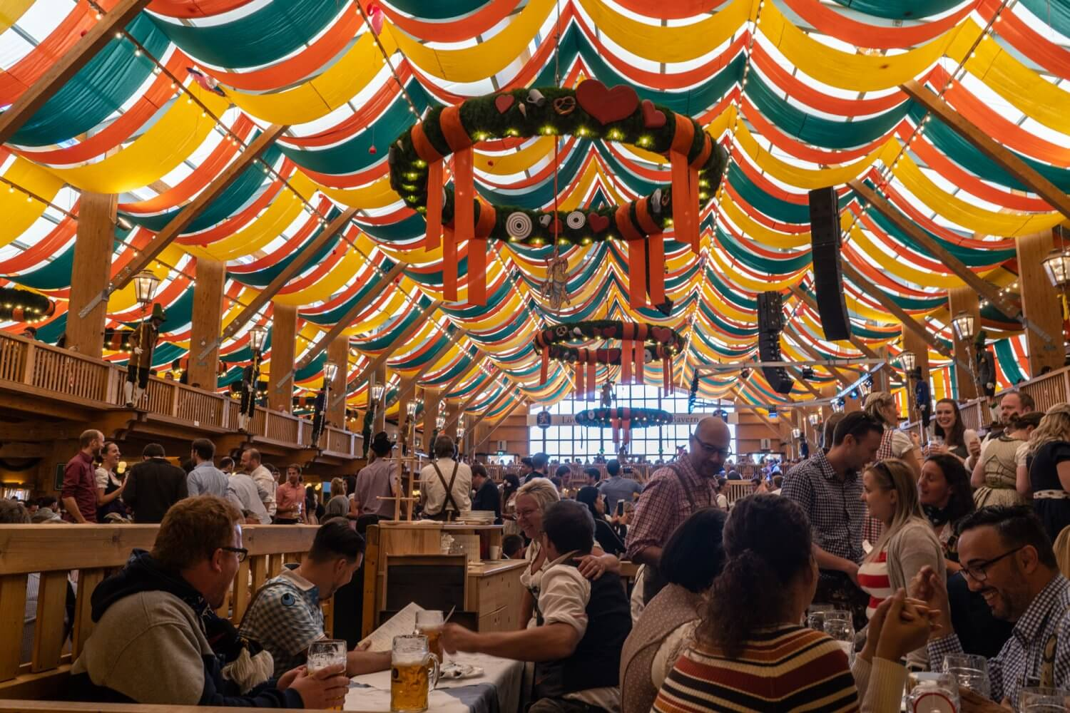 Schützen-Festzelt at Oktoberfest in Munich, Germany