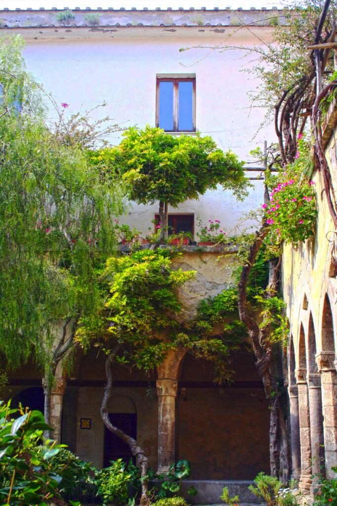 Church and Cloister of San Francesco in Sorrento, Italy