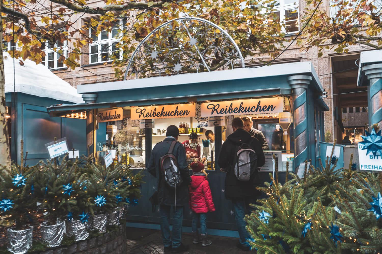 Sternchen Markt at Dusseldorf Christmas Market