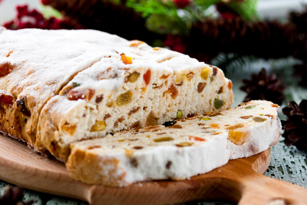Stollen for German Christmas