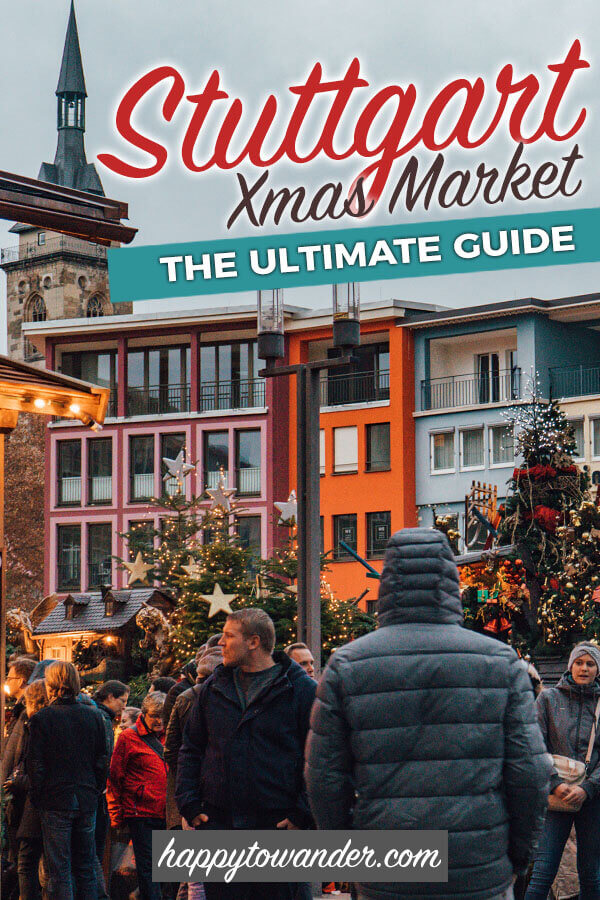 This is the ONLY Stuttgart Christmas Market Guide you need to read! Includes different Christmas markets to visit in Stuttgart, Germany, hidden gems no tourists know about and hot tips on what to eat and where to go. #germany #christmasmarket