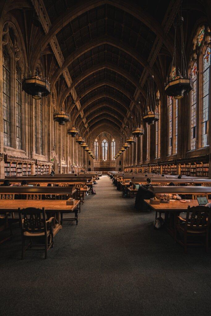 Suzzallo Library in Seattle