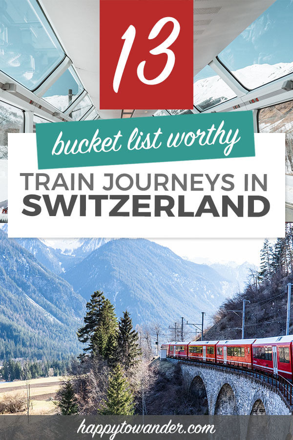 3e68de84658d0 13 Swiss Train Rides You Need on Your Bucket List! (The Most Scenic ...