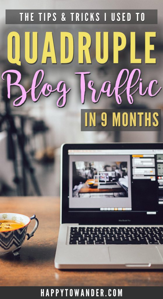 An incredibly comprehensive list of traffic-building tips that will help you skyrocket users and views! These strategies helped me quadruple my blog traffic in just 9 months, so click through for some of the most helpful traffic advice resources out there on the web.