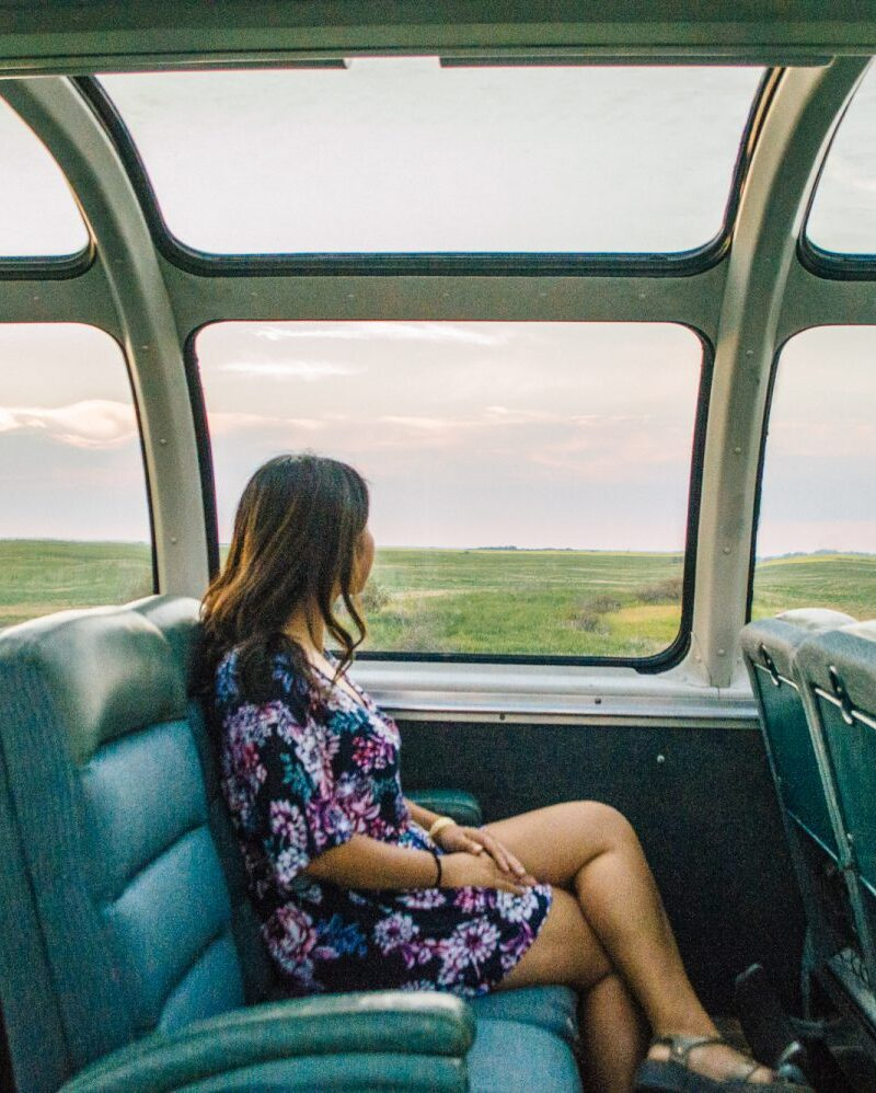 These incredible photos will inspire you to take the train across Canada. SO many inspirational photos that will inspire you to travel Canada, including Vancouver, Banff, Saskatoon, Toronto, Montreal, Halifax and Prince Edward Island. #Canada #TrainTravel #Travel #Vancouver #Toronto #PrinceEdwardIsland #Halifax #Saskatoon