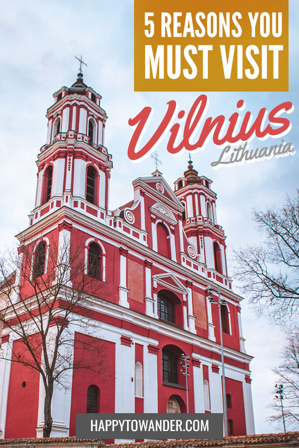 Vilnius, Lithuania is one of Europe's most underrated gems! Here's why you need to travel to Vilnius and see for yourself. #Vilnius #Lithuania #TravelTips