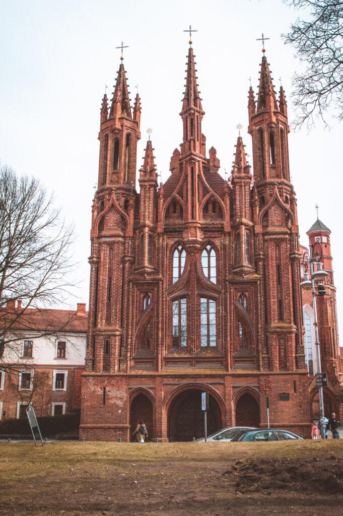 Saint Ann Church in Vilnius, Lithuania