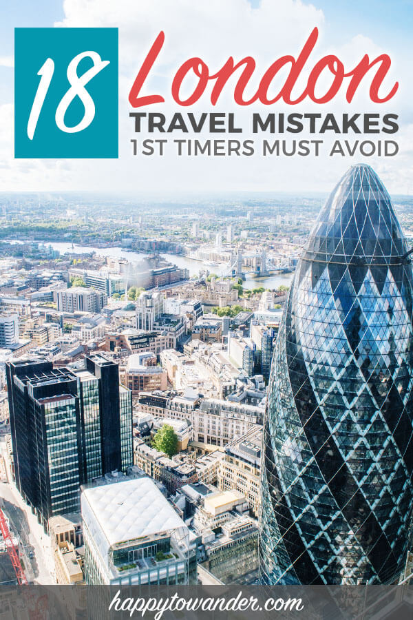 THE best London travel guide filled with London tips for first time visitors. Includes critical mistakes to avoid, including what things to do (and what to skip). A must read if you plan on travelling to London, England! #london #england