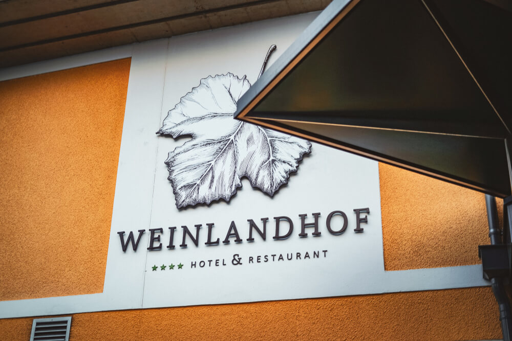 Weinlandhof hotel and restaurant in Gamlitz, Austria