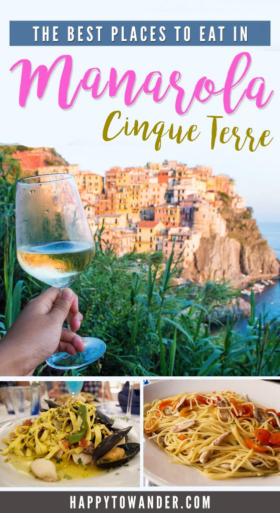 Where to eat in Manarola