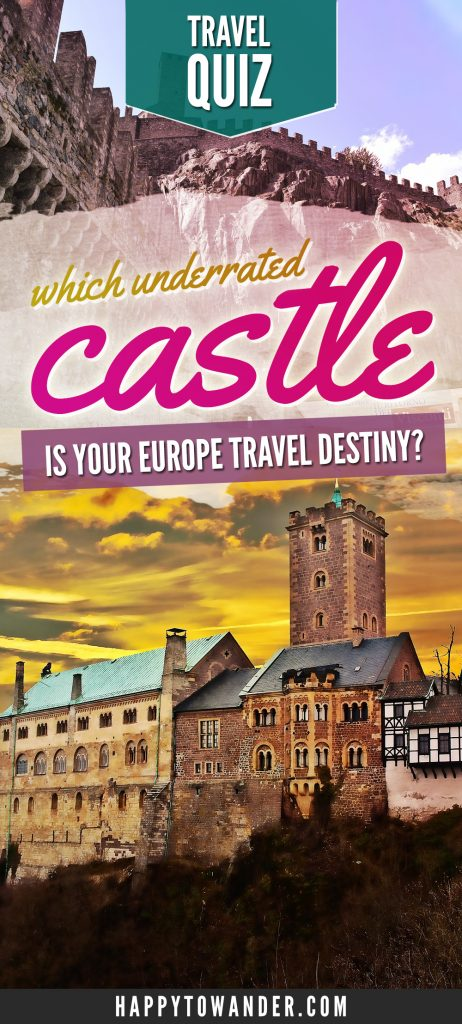 Which unknown, off-the-beaten path European castle should you visit next? Take this fun quiz to find out!