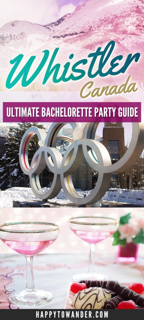 Planning a Bachelorette party in Whistler? Don't miss this guide packed with tips on how to make the most out of a Whistler stagette.