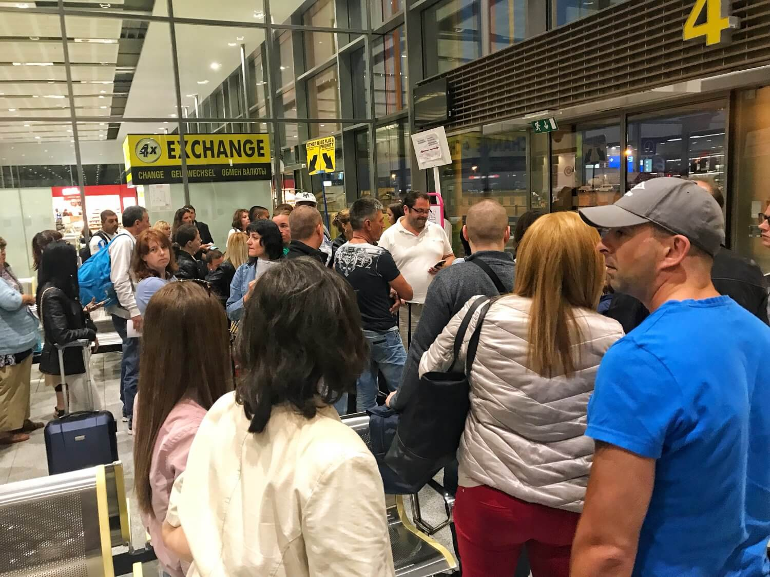 Crazy crowds for Wizz Air at Varna Airport