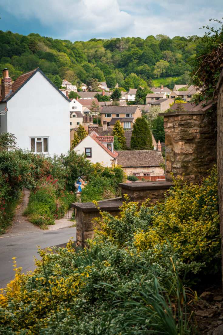 Wotton under Edge, England in the Cotswolds