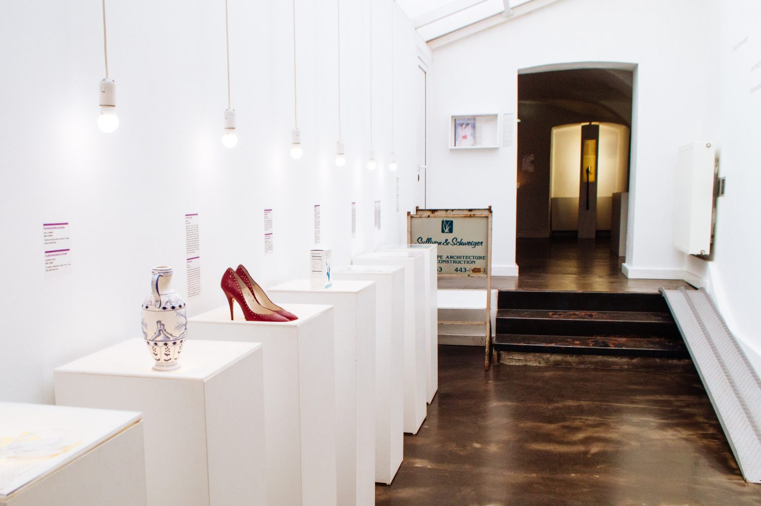 Items on display at the Museum of Broken Relationships in Zagreb, Croatia