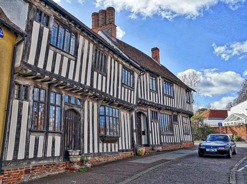 The adorable streets of Lavenham, England, AKA Godric's Hollow in Harry Potter