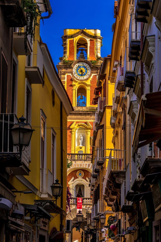 Duomo of Sorrento in Old Town Sorento, Italy